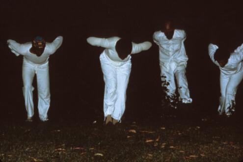 Performance Photographs - <i>Flying 9</i>, 1982
