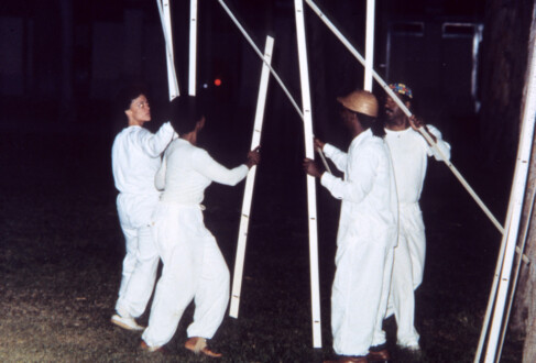 Performance Photographs - <i>Flying 8</i>, 1982