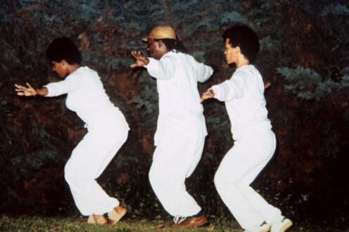 Performance Photographs - <i>Flying 6</i>, 1982/2014. Digital Print 7 ½ × 9 ¼ inches (19.05 × 23.50 cm)