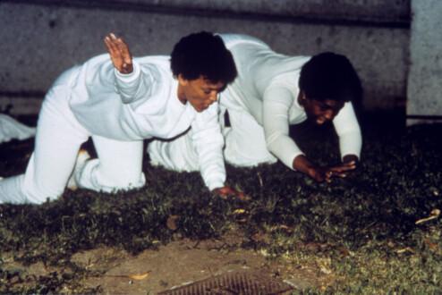 Performance Photographs - <i>Flying 7</i>, 1982