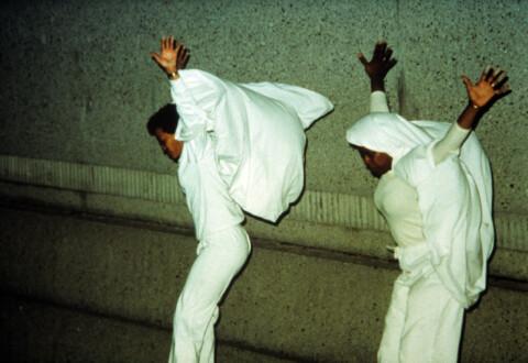 Performance Photographs - <i>Flying 3</i>, 1982/2014. Digital Print, 7 ½ × 9 ¼ inches (19.05 × 23.50 cm)
