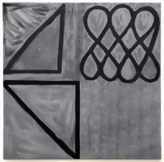 Harriet Korman Notes on Painting: 1969 – 2019 - <i>Untitled</i>, 1996. Oil on canvas, 72 x 72 in.