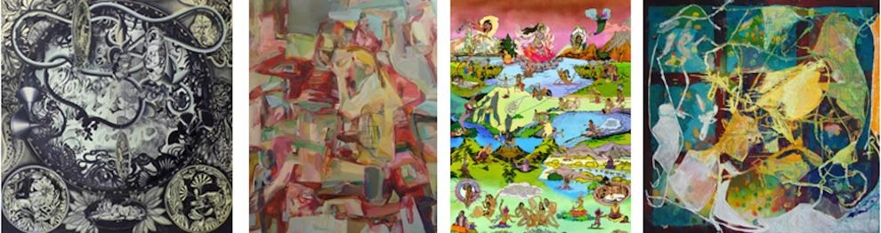 Hadassah Emmerich, Chitra Ganesh, Dona Nelson, Haeri Yoo - Thomas Erben Gallery