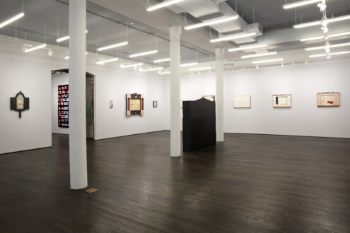 White Columns – Anne Minich - Anne Minich, installation view, January 23 - March 7, 2020. Courtesy of the artist and White Columns. Photo: Marc Tatti.