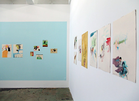 Ala Dehghan I Can Explain Everything - Installation view: South and West wall