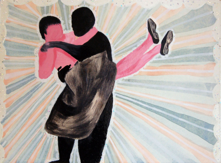Ala Dehghan – I Can Explain Everything - Ala Dehghan I Have Never Danced with My Father, 2010. Mixed media on paper, 19.5 x 26.5 cm.