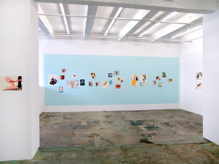 Ala Dehghan I Can Explain Everything - Installation view: East wall