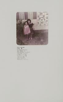 New Art from Pakistan – Noor Ali Chagani, Amna Hashmin, Ayesha Jatoi, Ismet Khawaja, Nadia Khawaja, Murad Khan Mumtaz, Seema Nusrat, Lala Rukh - Ayesha Jatoi, Untitled II, 2008. Color photograph and ink on paper, 11.5 x 16.25 in.