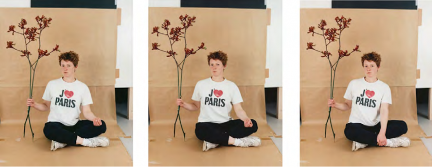 Photography Out of Germany – Sofia Hultén, Annette Kelm, Heinz Peter Knes, Alwin Lay, Michael Schmidt, Kathrin Sonntag, Tobias Zielony. - Annette Kelm, J'aime Paris, 2013. C-print, 3 parts 30.75 x 24.5 in each, ed. 6.