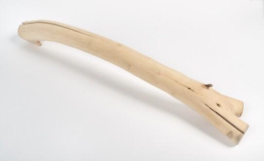 Her Bone - <i>Her Bone</i>, 2020. Found wood, 5 x 32 in.
