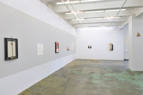 Her Bone - Installation view, west and north walls.
