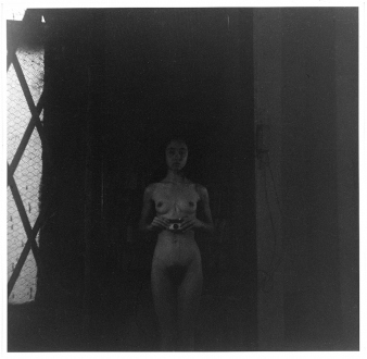 15 Years Thomas Erben - Adrian Piper, Food for the Spirit #3, 1971. Gelatin silver print, 14.5 x 15 in, ed. of 3 (+ 1 AP).
