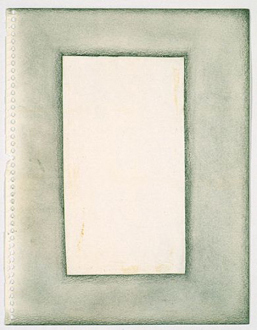Adrian Piper – Early Drawings and Other Works - Adrian Piper Drawings about Papers and Writing about Words #5, 1967. Ink and pencil on paper, 11 x 8.5 in.