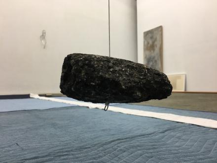 Weather Trust / Between Stars: Offer Balancing Scenarios – Ali Van - Installation, close-up of TORQUE suspended, Courtesy of the artist
