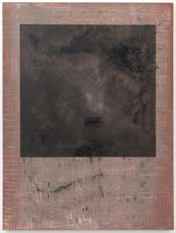 Bahar Behbahani – Garden Coup - Bahar Behbahani, Apparent Failure, 2015-16. Mixed media on canvas, 72 x 54 in.