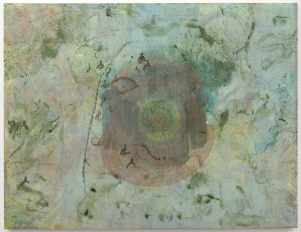 Bahar Behbahani – Garden Coup - Bahar Behbahani, Preliminary Steps, 2015-16. Mixed media on canvas, 57 x 74 in.