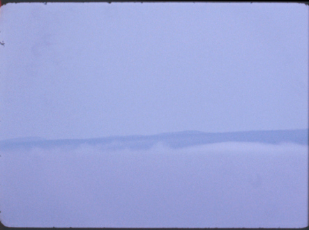 Barry Gerson – The Parting of the Clouds - Dissolving, 1970. Digitized 16mm Ektachrome film, 4 minutes (still).