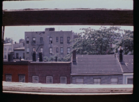 Barry Gerson – The Parting of the Clouds - Luminous Zone, 1973. Digitized 16mm Ektachrome film, 30 minutes (still).
