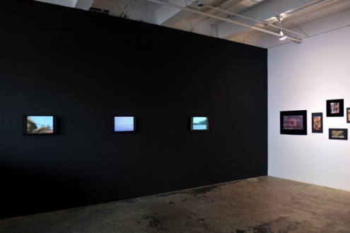 Barry Gerson – The Parting of the Clouds - Installation view, east wall.