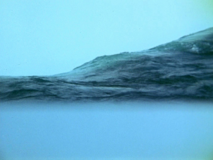Barry Gerson – The Parting of the Clouds - Translucent Appearances, 1975. Digitized 16mm Ektachrome film, 22 minutes.