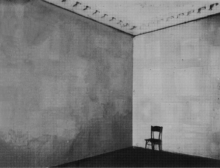 Nothing Is Left to Tell - The First Aplasticist Exhibition, 2009. Pigment inkjet print on paper, edition of 3 (+1 AP), 45 x 59 in.