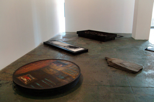 Barbad Golshiri – Curriculum Mortis - Installation view towards west and north wall.