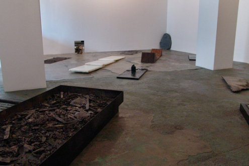 Barbad Golshiri – Curriculum Mortis - Installation view towards east and south wall.