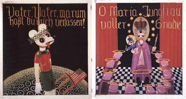 Blalla Hallmann – Die Heilige Familie (The Holy Family) - Thomas Erben Gallery