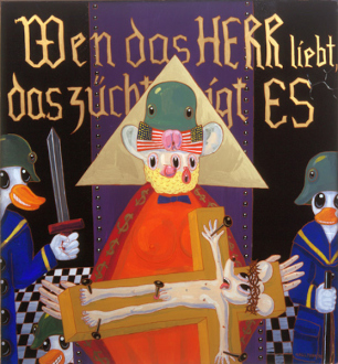 15 Years Thomas Erben - Blalla Hallmann, Wen das HERR liebt das züchtigt es (Whom the Lord Loves he Chastizes), 1990.