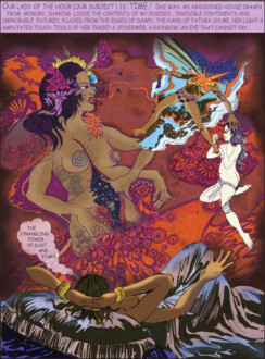 Digital Collages - <i>Melancolia (The Thick of Time)</i>, 2010. Lambda Lightjet print, 48 x 68 in, edition of 5 (+1 AP).