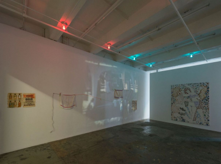 Clark House Initiative – One day Pop-Up Show & Performance Lecture - Installation view