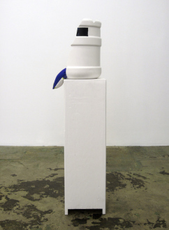 That This Is – Lauren Luloff, Cassie Raihl, William Santen - Cassie Raihl: Cooler, 2012. Mixed media, 45.5 x 12 x 10 in.
