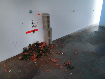 On Permanence and Change – Barry Gerson, Duy Hoang, Nandita Raman and Giovanna Sarti - Duy Hoang: EE.UU., 2014. Mixed media, dimensions variable. (detail)