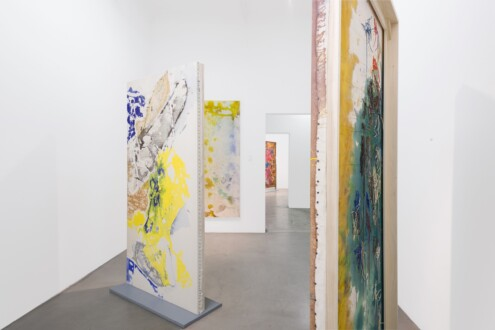 Box Paintings - Installation shot, Michael Benevento Gallery, 2016. Photograph by Ed Mumford, courtesy of Michael Benevento Gallery.