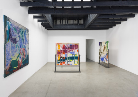 Painting the Magic Mountain, Michael Benevento Gallery, Los Angeles - Installation shot, Michael Benevento Gallery, 2016. Photograph by Ed Mumford, courtesy of Michael Benevento Gallery.