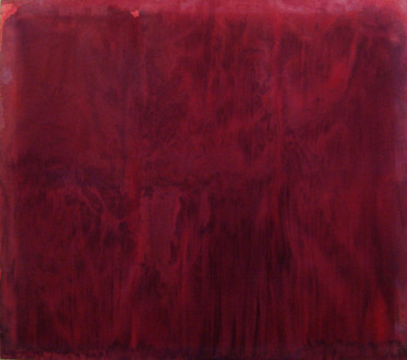 Brain Stain - <i>Untitled</i>, 2004. Acrylic on canvas, 69 x 80 in.