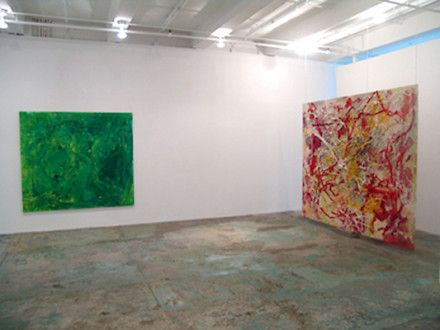 Brain Stain - <i>Brain Stain</i> - installation view, west and north wall.
