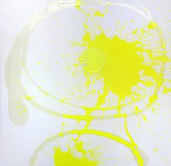 Phigor - <i>Bright!</i>, 2014. Acrylic and acrylic medium on canvas, 48 x 48 in.