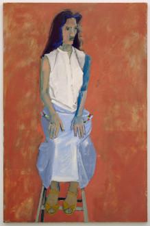 in situ - <i>Doretta</i>, 1983. Oil on canvas, 84 x 55 in.