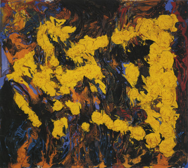 Dona Nelson - <i>Fiery Arrangement</i>, 1992