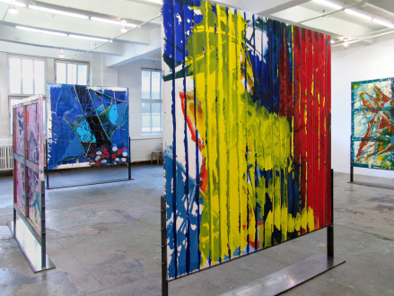 Dona Nelson – New Paintings - Thomas Erben Gallery