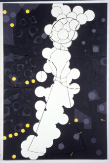 Stations of the Subway - <i>Rock Avenue</i>, 1997. Latex Enamel on Canvas 90 × 60 in.