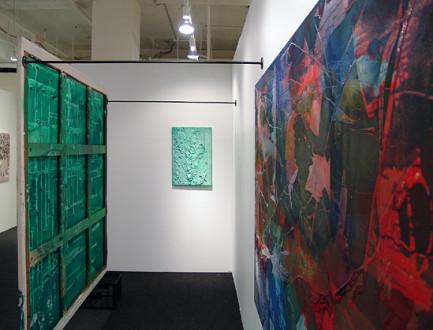 Volta New York - Installation view, Dona Nelson solo presentation at Volta New York 2010.