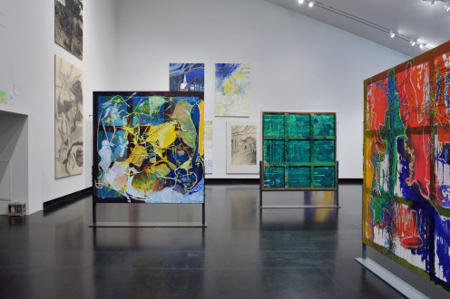 Stand Alone Paintings - Installation view, Tang Teaching Museum