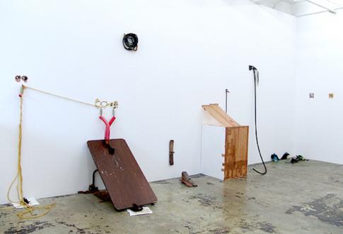 Handshakes – Elaine Stocki, Whitney Claflin, Ian Campbell - Elaine Stocki, installation view, east wall.