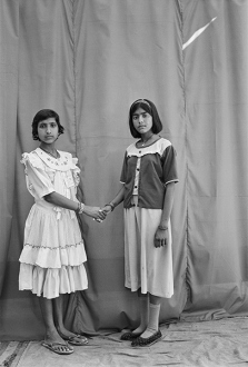Gauri Gill – 'Balika Mela' and 'Jannat' - Bhanwari and Licchma, 2003. Archival inkjet print, edition of 7 (+1 AP), 42 x 28 in.