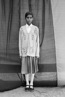 Gauri Gill – 'Balika Mela' and 'Jannat' - Kanta, 2003. Archival inkjet print, edition of 3 (+1 AP), 62.5 x 42 in.