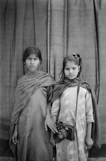 Gauri Gill – 'Balika Mela' and 'Jannat' - Madhu and Rampyari, 2003. Archival inkjet print, edition of 7 (+1 AP), 42 x 28 in.