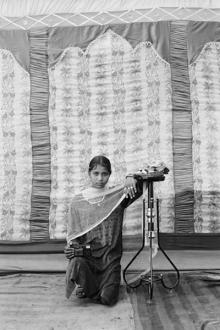 Gauri Gill – 'Balika Mela' and 'Jannat' - Raami, 2003. Archival inkjet print, edition of 3, 62.5 x 42 in.