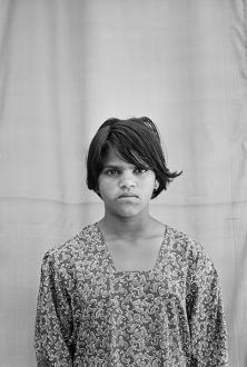 Gauri Gill – 'Balika Mela' and 'Jannat' - Rani, 2003. Archival inkjet print, edition of 7 (+1 AP), 42 x 28 in.